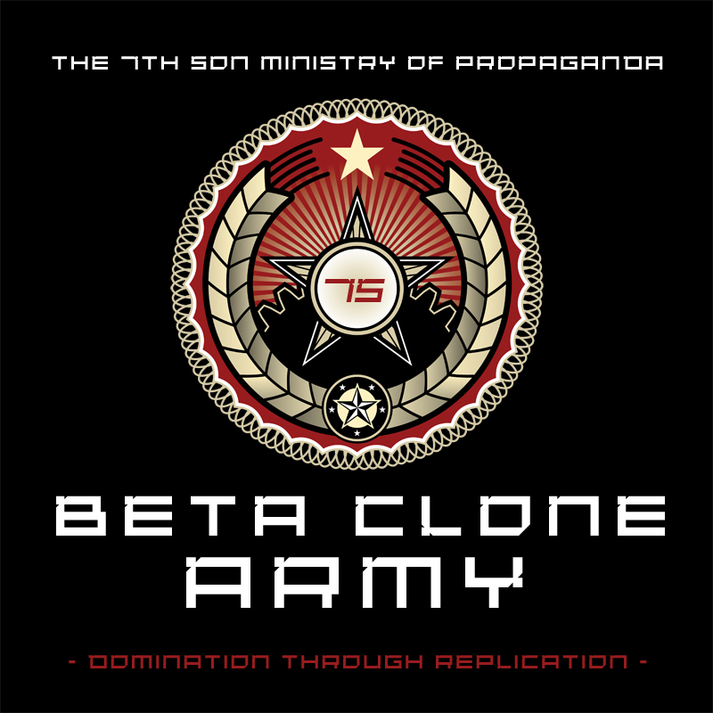 Beta Clone Army Logo
