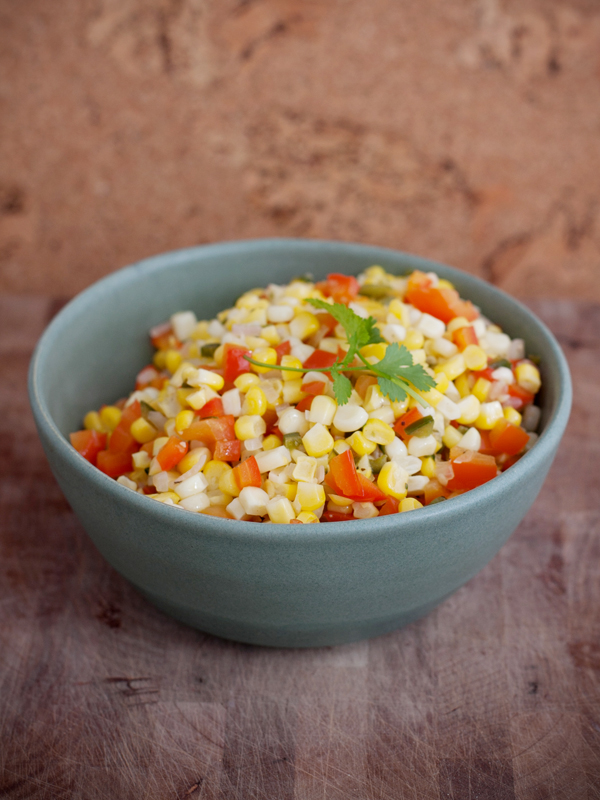 Cam's Corn Succotash (vegan, dairy free, gluten free)