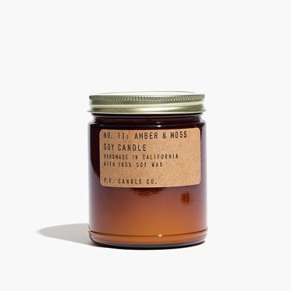 a nice smelling candle, like this one, made from clean burning soy.  $18 from madewell