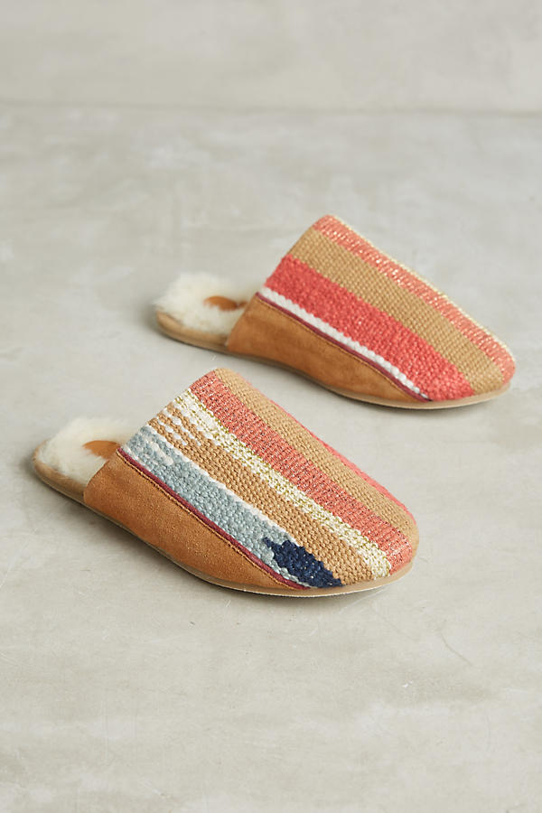 these simple, stylish slippers. $78 from  anthropologie