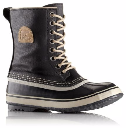 warm, water proof boots for exploring the snowy terrain. $140 from sorel