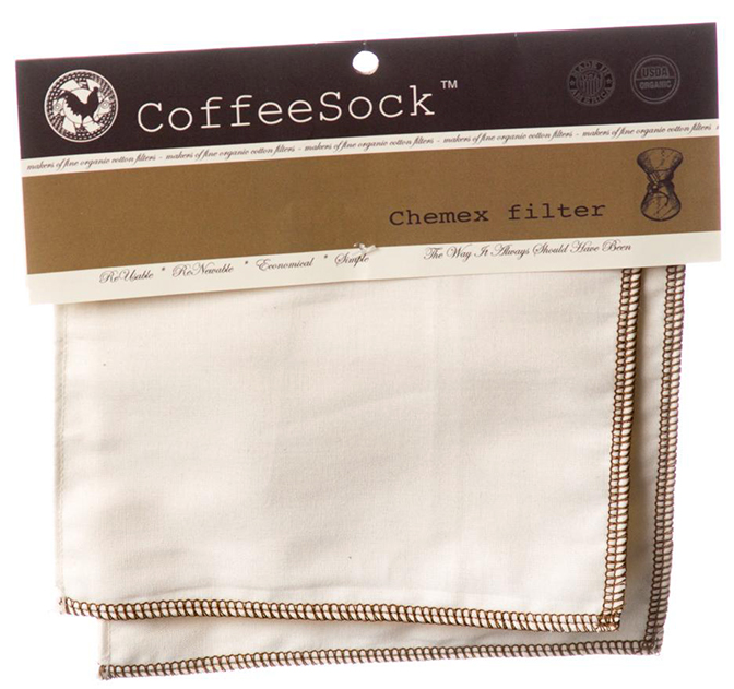 Chemex coffee filters (2) by CoffeeSock, $12.99