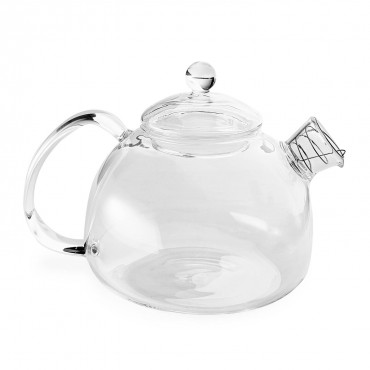 Glass teapot at ABC Carpet, $64