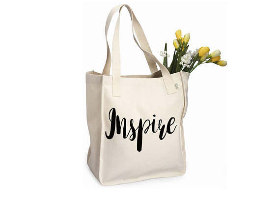 Simple cotton tote bag on Easy, $15