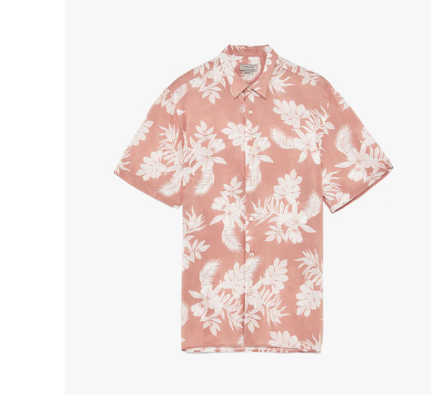 Printed Shirt, Zara, $40