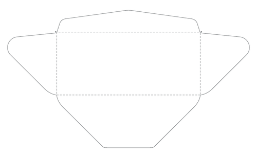 Template Downloads Derby City Litho - No 10 envelope template