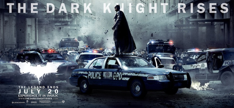 A major theme in the Dark Knight trilogy is the rise of Gothamites from an apathetic population to one that takes responsibility for its city.