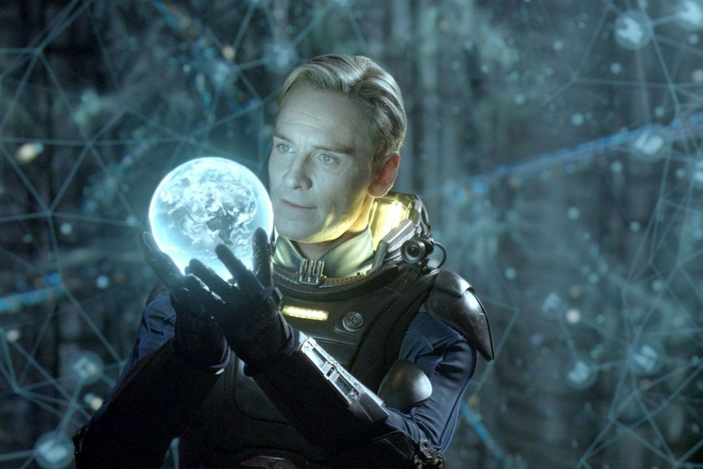 David the android, portrayed by Michael Fassbender, is the highlight of  Prometheus .