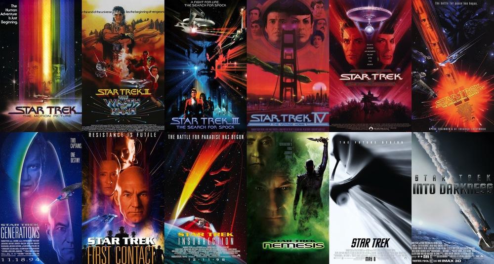 Movie Posters Star Trek Star-trek-all-movie-posters