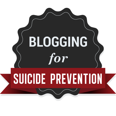 Blogging for world suicide prevention day.