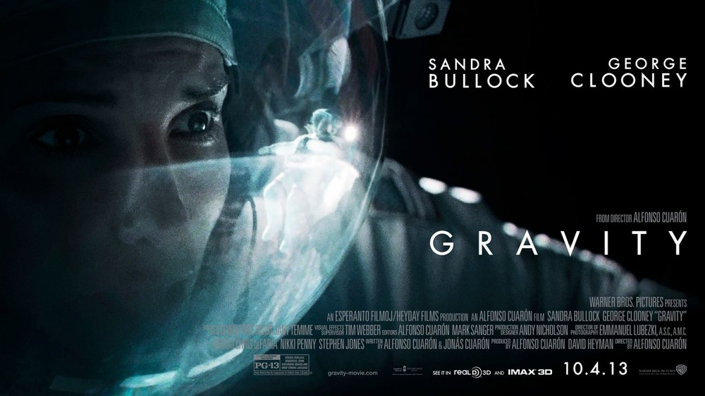Gravity movie poster.