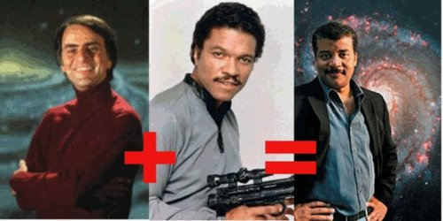 Neil deGrasse Tyson's got the right stuff to take on COSMOS.