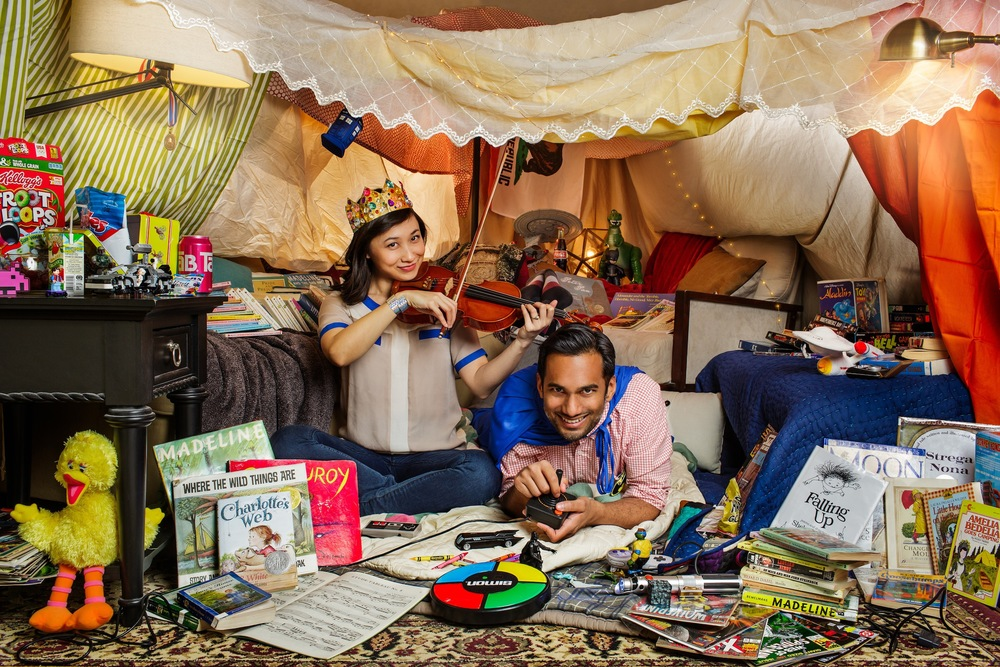 Click for full image.  sc 1 st  Brain Knows Better & The Most Epic Blanket Fort and the Nerdy Love Story That Made It So ...