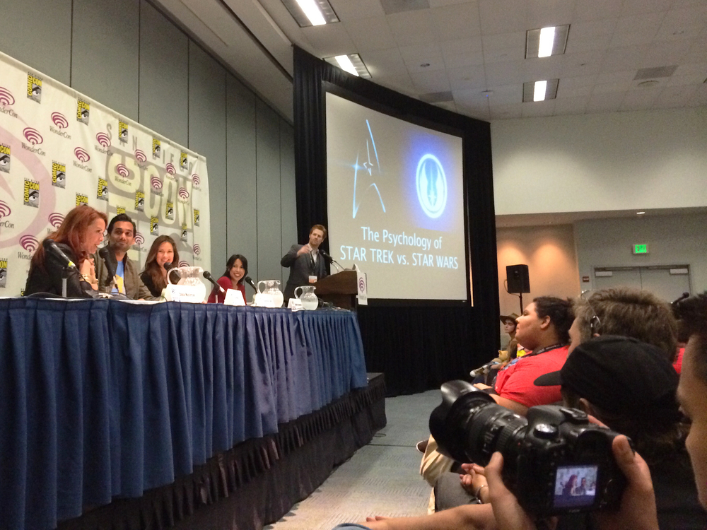 The Psychology of Star Trek VS. Star Wars: Episode III at WonderCon