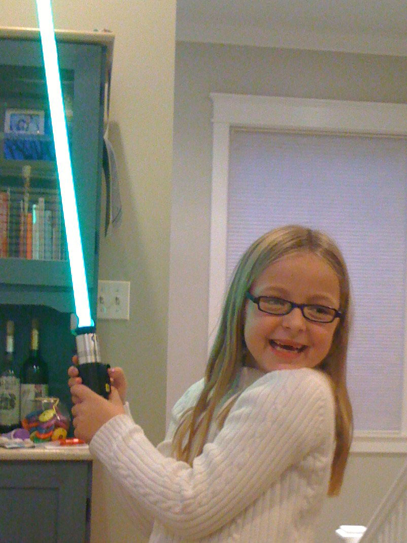 "Katie Goldman, the ""Star Wars girl"""
