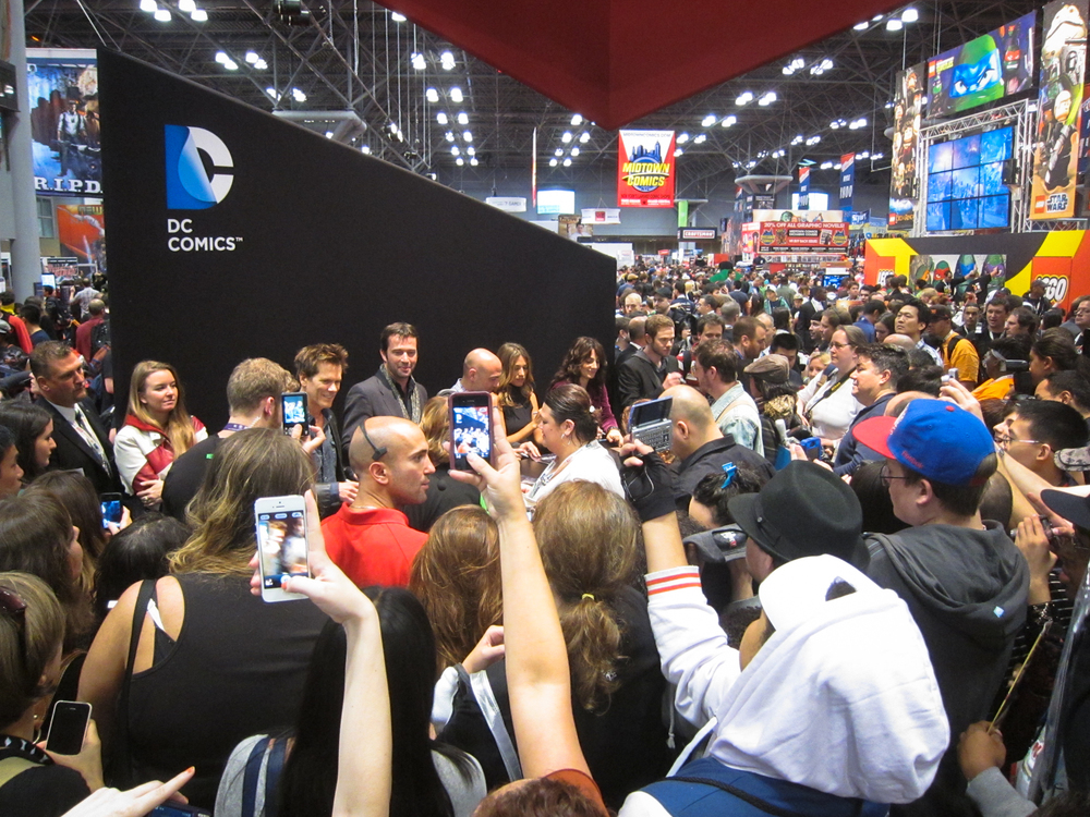 Six Degrees of Kevin Bacon at New York Comic Con 2012