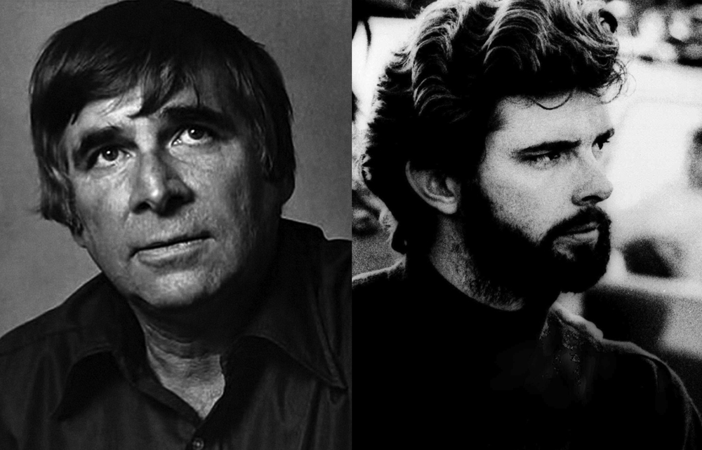 Star Trek's Gene Roddenberry, Star Wars's George Lucas