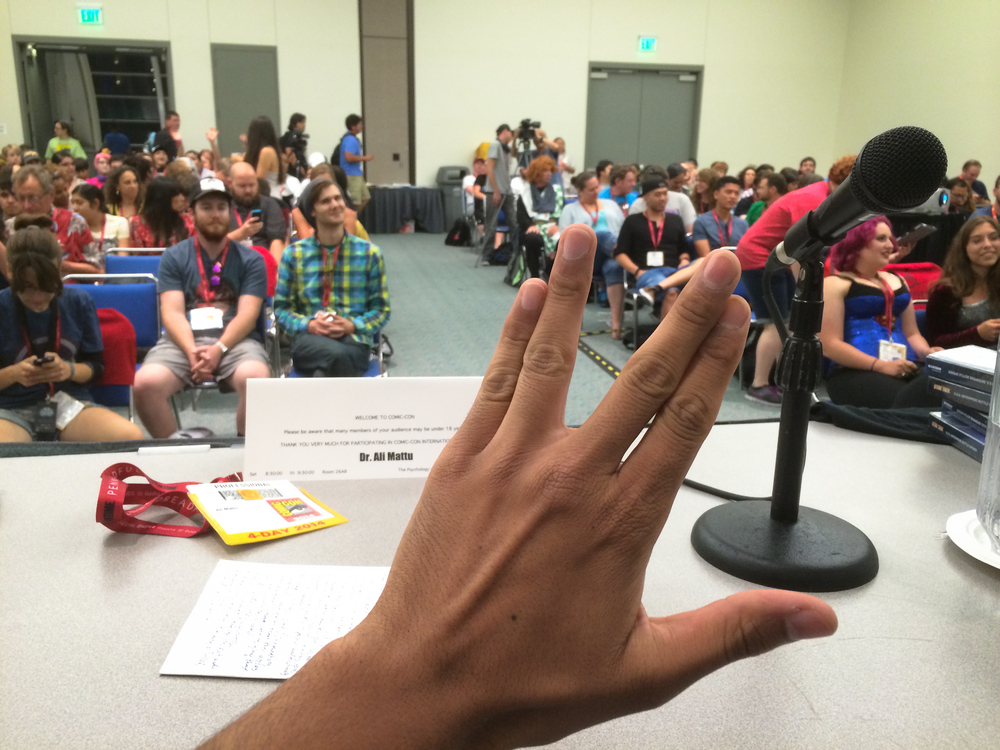 The Psychology of Star Trek Versus Star Wars: Episode IV at San Diego Comic Con 2014