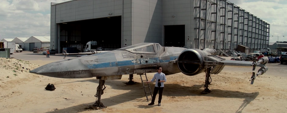 JJ Abrams X-Wing Star Wars Episode VII