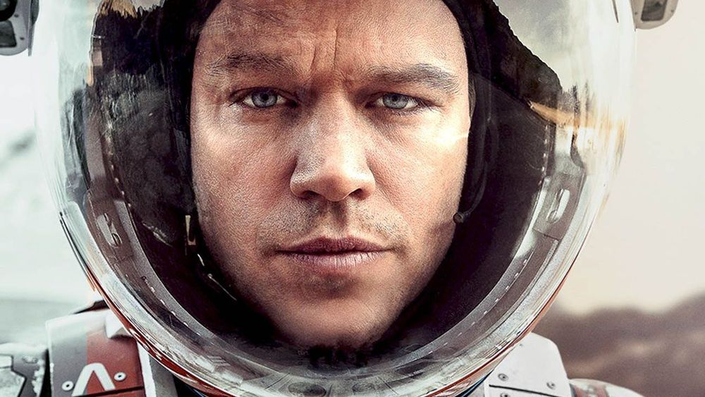 Matt Damon as Mark Watney in Andy Weir and Ridley Scott's The Martian