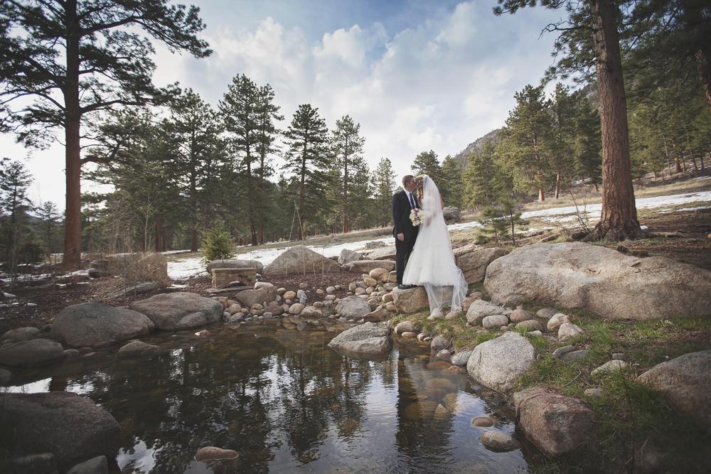 Wedding at Della Terra Mountain Resort in Estes Park, Colorado