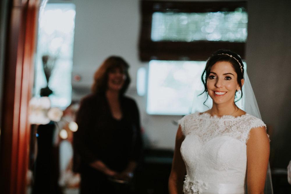 bride portrait Palisade Colorado