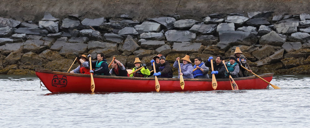Shakes Island Rededication One People Canoe Society Wrangell Alaska