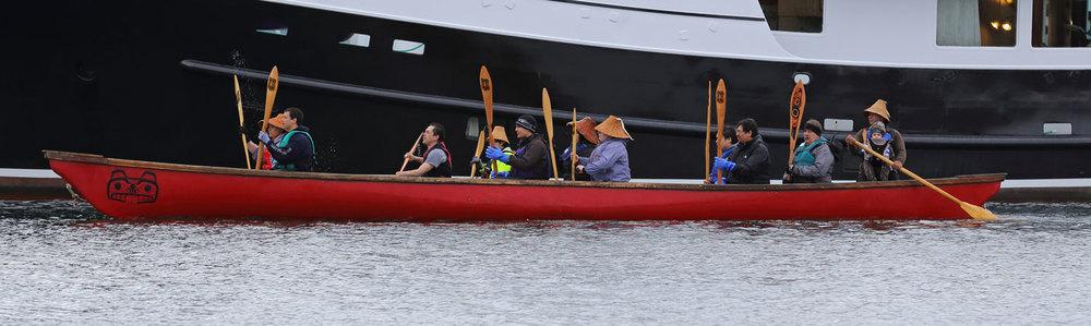 Shakes Island Tribal House Rededication One People Canoe Society Wrangell Alaska