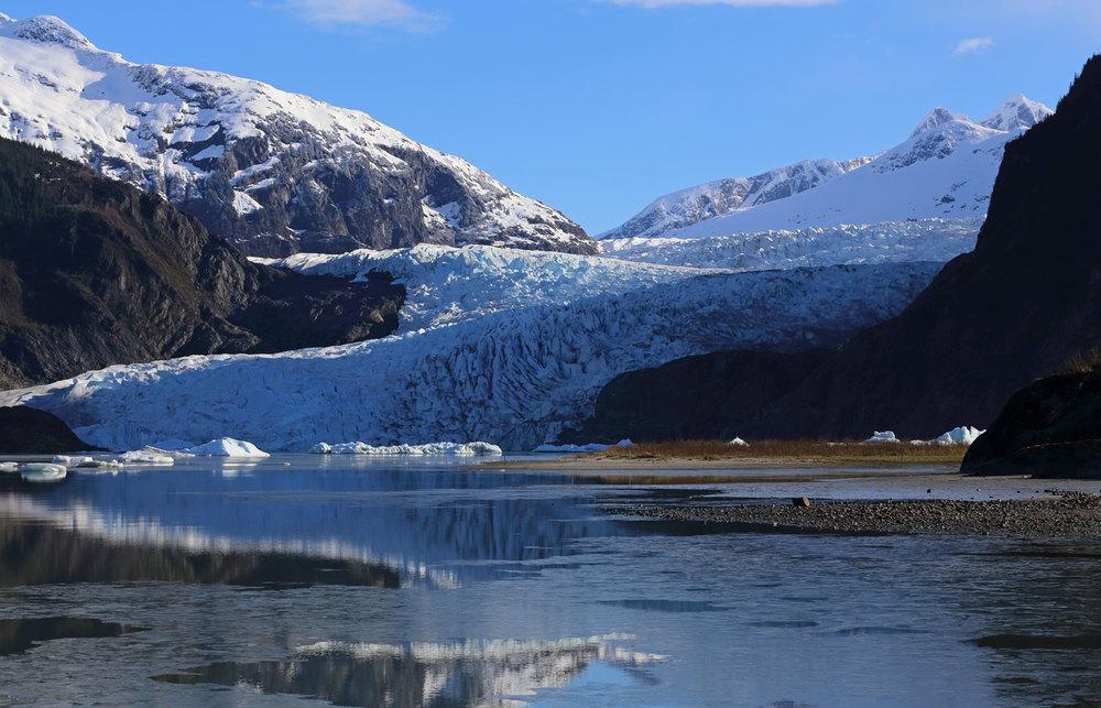 Mendenhall Glacier, Juneau, Alaska