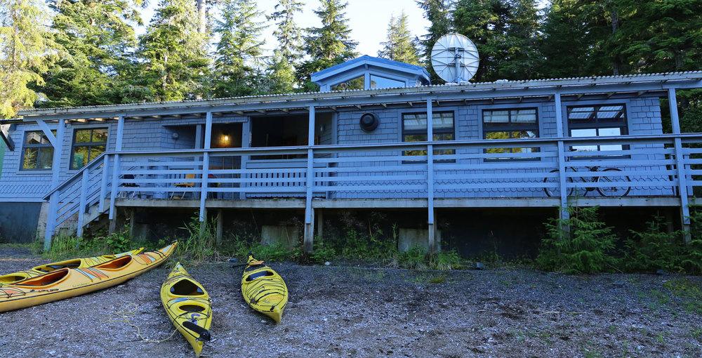 The school in Port Protection, Alaska