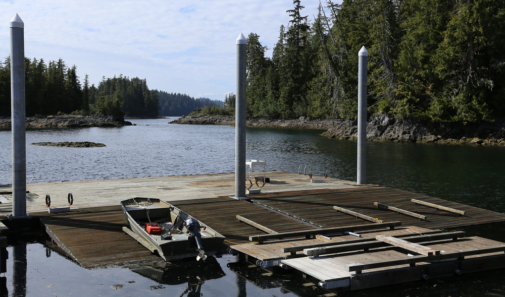 New dock Naukati Bay Southeast Alaska
