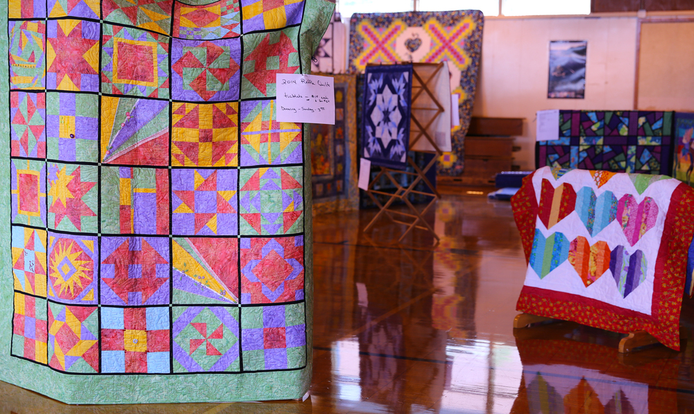 Quilters by the sea quilt show 2014