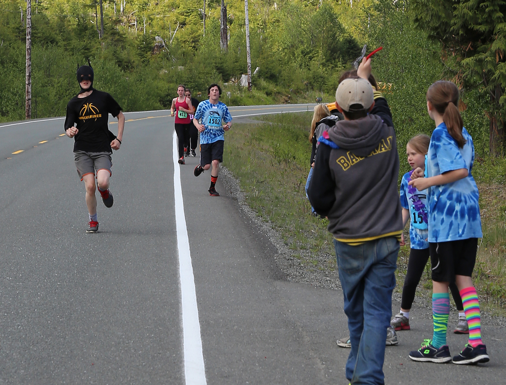 Prince of Wales Island marathon mystery runner