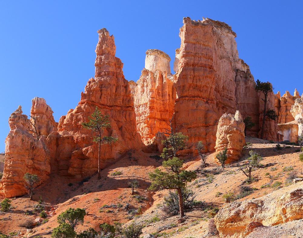 Southwest hoodoos red rock formations beautiful