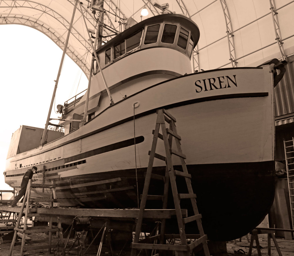 Petersburg Fisherman Updates Wood Boat in Wrangell