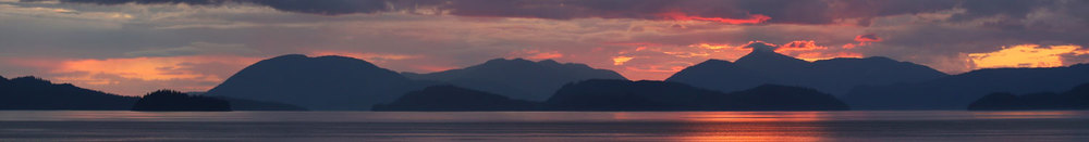Sunset Wrangell Southeast Alaska beautiful