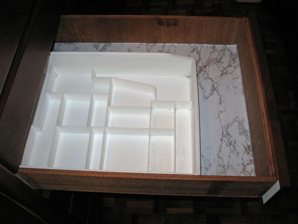Junk drawer empty