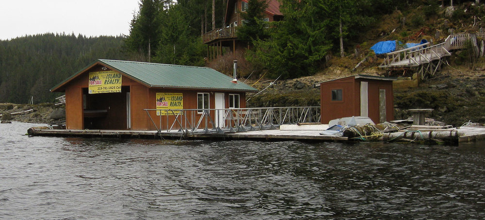 This floating shop is for sale. It needs to be moved to a new location. Info is HERE