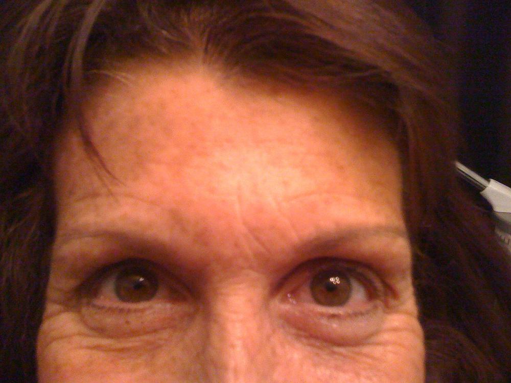 Before Hillary eyeliner