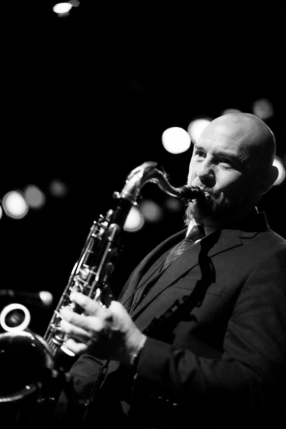Andy Warr is a saxophonist, producer, and composer