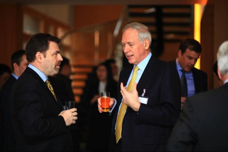 Roland Decorvet, CEO Nestlé China and Ambassador Jacques de Watteville