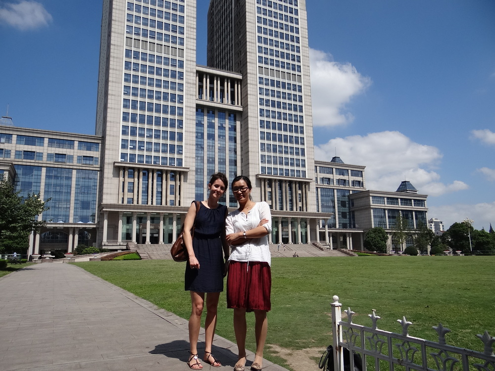Florence (left, author) and Linda (right, swissnex China Project Leader Academic Affairs )