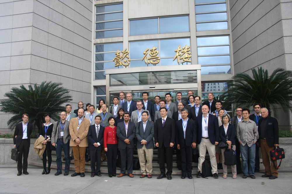 Group photo of all guests attended the symposia
