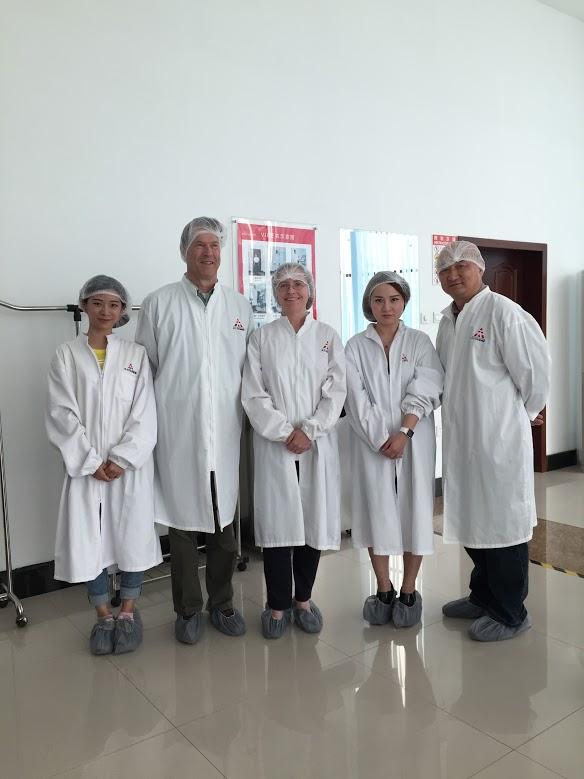Visit of Tasly Pharmaceutical Group Co., Ltd