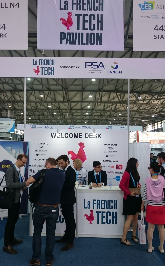La French Tech – located in the Startup Park; most important delegation of startups from a country