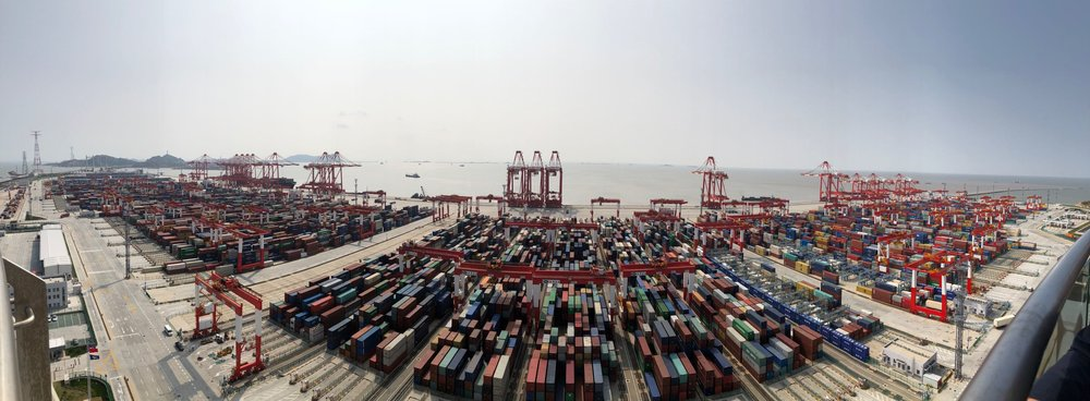 Yangshan Phase IV Automated Terminal is the largest container terminal worldwide.