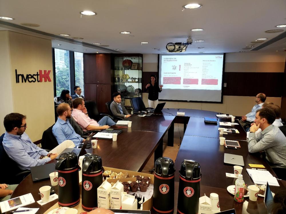 Kick off of the Venture Leaders program at Invest HK, in Hong Kong