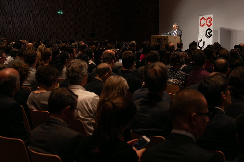Prof.  Dr. Michael Hengartner , President, University of Zurich, gave the speech