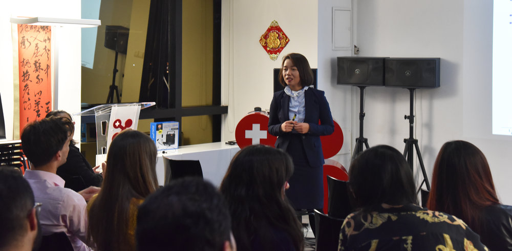 Prof. Ying Liu discussed the Shadow Banking System in China