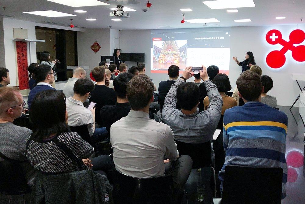 Ms Xiaolin Briod-Wang's Presentation (Interpreter: Ms Xiaolu Zhu)